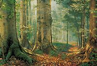Painting of the Sacred Grove