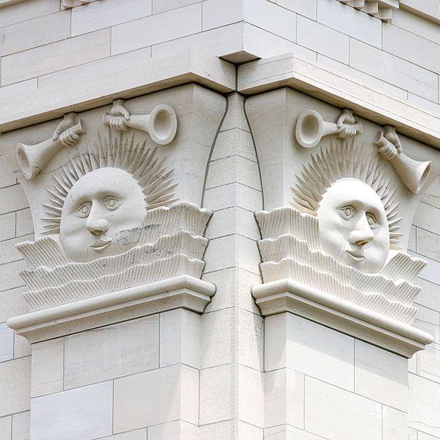 Nauvoo Temple sunstones
