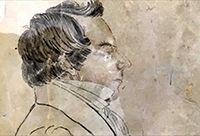 Illustration of Joseph Smith, the Prophet.
