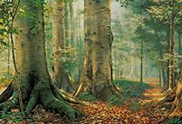 Painting of the Sacred Grove.