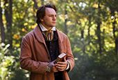 An actor portraying Joseph Smith, the prophet.
