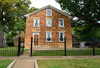 Photo of Carthage Jail, where Joseph Smith was martyred.