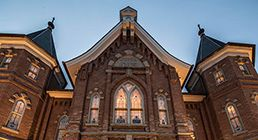 The Provo City Center Temple—a place where we can find the strength to overcome adversity.