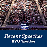 Recent Speeches