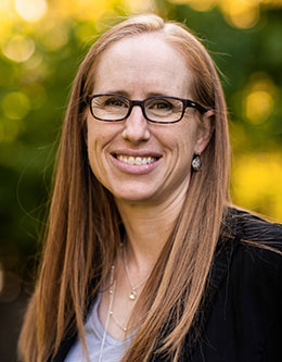 Jamie Jensen, Associate Professor in the College of Life Sciences