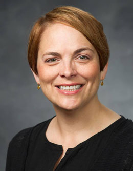 Amy Jensen, Associate Dean of the College of Fine Arts