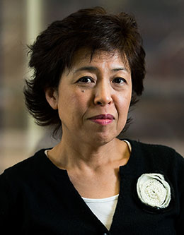 Niwako Yamawaki, Professor of Psychology.