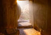 The open tomb of Christ