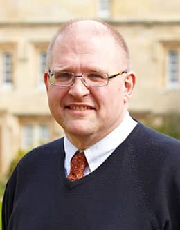 Rev. Dr. Andrew Teal, Chaplain, Fellow, & Lecturer in Theology, Pembroke College