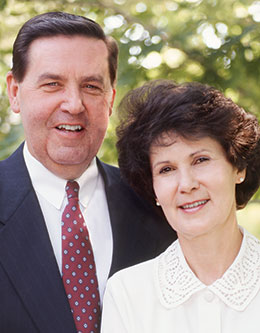 Jeffrey R. Holland - Mormon Apostle - and Patricia T. Holland