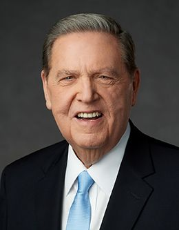 Elder Jeffrey R. Holland, member of the Quorum of the Twelve Apostles of The Church of Jesus Christ of Latter-day Saints.