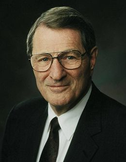 Elder Neal A. Maxwell, member of the Quorum of the Twelve Apostles of The Church of Jesus Christ.