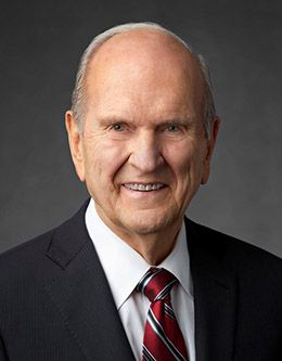Russell M. Nelson—President of the Church of Jesus Christ of Latter-day Saints.