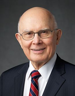 Dallin H. Oaks—first counselor in the First Presidency of The Church of Jesus Christ of Latter-day Saints.