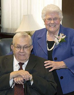 Boyd K. Packer - Mormon Apostle- and Donna Smith Packer