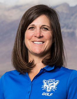 Carrie Roberts, BYU Womens Golf Coach