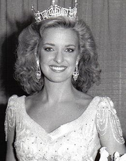 Photo of Sharlene Wells, Miss America of 1985
