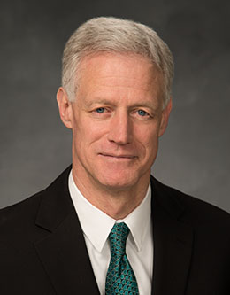 Kevin J Worthen, President of Brigham Young University.